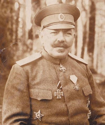 Генерал-майор Алекси Попов